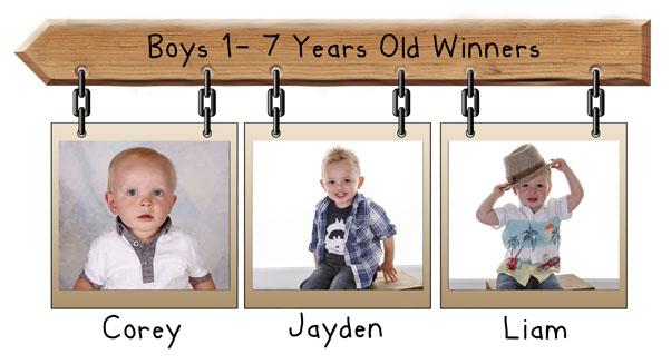 boys 1-7 years