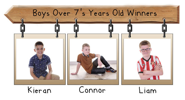 boys over 7 years