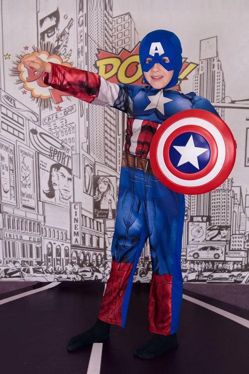 Super Hero Photo Shoot North East Captain America