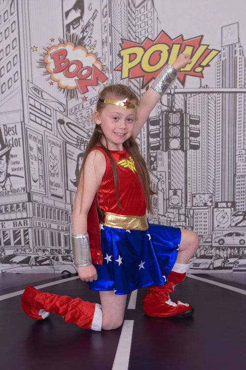 Super Hero Photo Shoot North East Wonder Woman