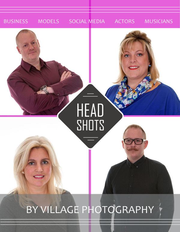 Corporate Head Shot, Village Photography, Hebburn