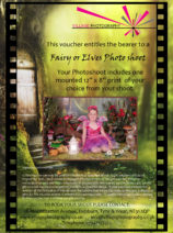Fairies & Elves Woodland Adventure, Village Photography, Hebburn, Fairy Shoot Newcastle. Gift Voucher