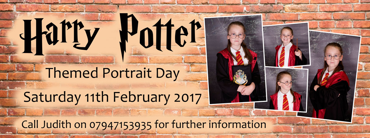 Harry Potter style themed photoshoots Newcastle
