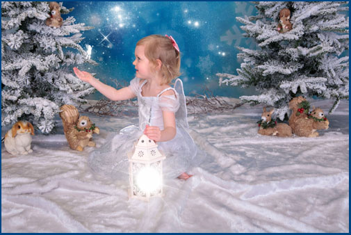 Frozen Fairies Photoshoot, Newcastle Area,, Village Photography Newcastle