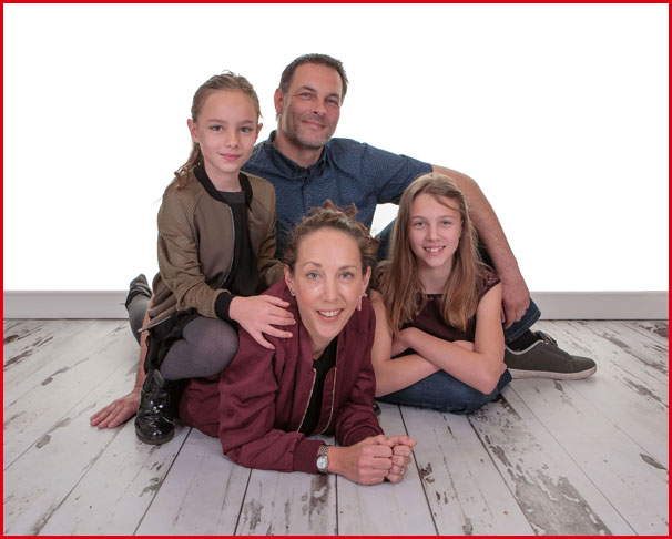 Family Portrait Shoot, Village Photography Hebburn, Newcastle