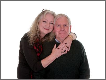 Couples portrait shoot Sheila & Derek