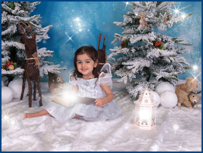 Frozen Fairies Photo shoot, Village Photography, Hebbun