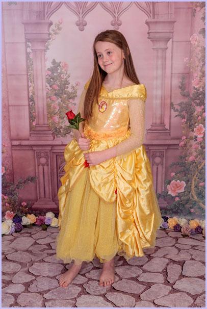 Children's princess photoshoot newcastle