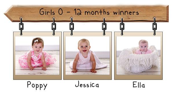 0 - 12 months Girls