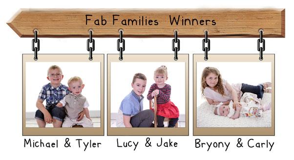Fab Families  winners