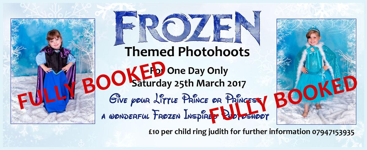 Frozen Themed Photo Shoots