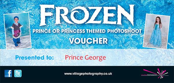 Frozen Gift Voucher