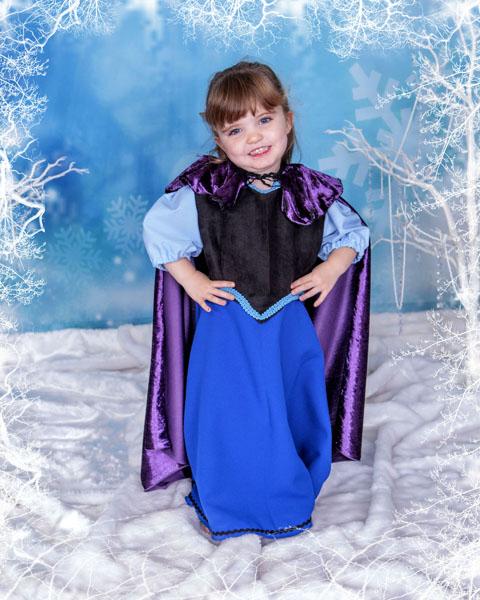 Frozen Themed Photoshoot Newcastle, Village Photography Hebburn