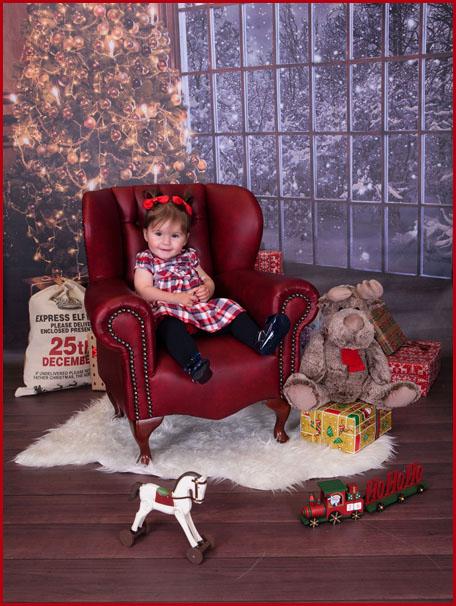 Christmas Themed Photoshoot, Village Photography, Newcastle