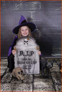 Halloween Themed Photoshoot, Village Photography Hebburn, Tyne & Wear