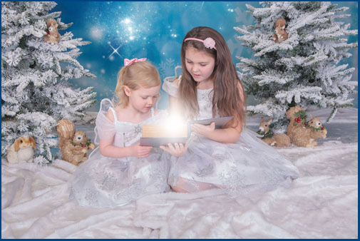 Frozen themed fairy shoot, Village Photogrphy, Hebburn, Newcastle