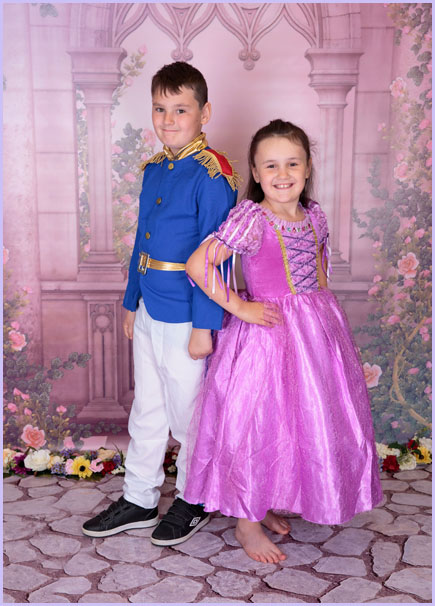 Children's prince & princess photoshoot newcastle