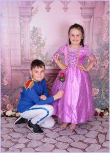Children's prince & princess photoshoot newcastle