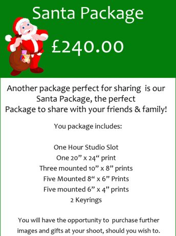 Christmas Themed Photoshoot Gift Voucher, Village Photography, Newcastle